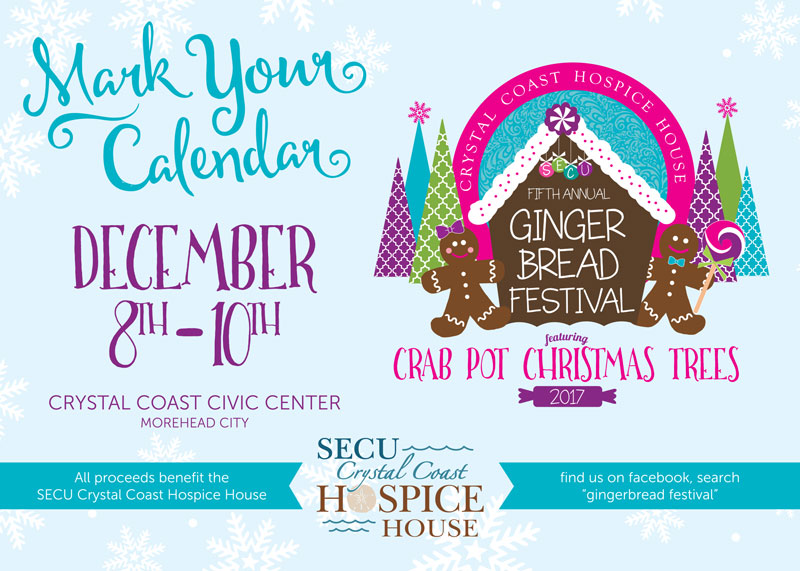 Gingerbread Festival Save The Date Card