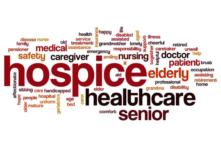 Hospice Word Cloud