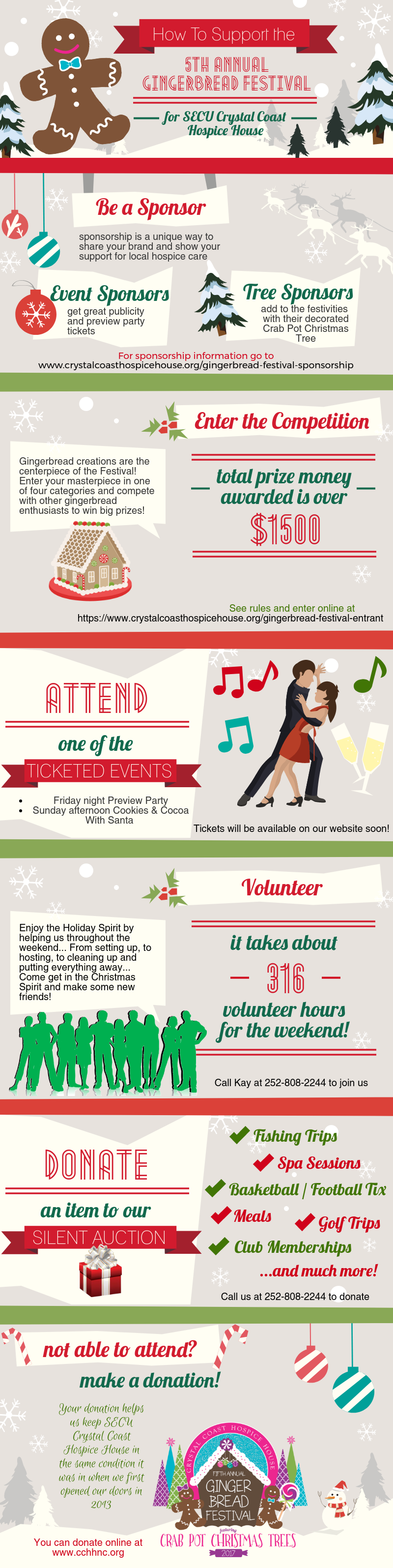Support The Gingerbread Festival